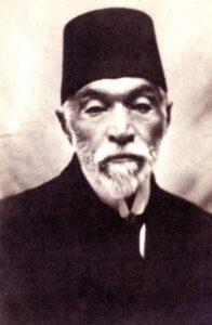أحمد عزت باشا العابد في سنواته الأخيرة