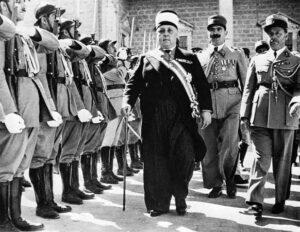 الشيخ تاج الدين الحسني رئيساً للجمهورية سنة 1941.