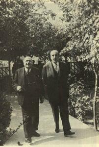 القمة السورية اللبنانية سنة 1945.