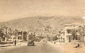شارع أبي رمانة سنة 1948.
