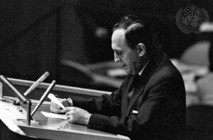 الدكتور الطرزي في الأمم المتحدة