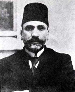هاشم الأتاسي رئيساً للمؤتمر السوري العام سنة 1919.