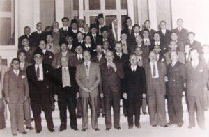 المؤتمر التأسيسي للحزب الوطني سنة 1947.