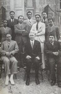 أعضاء جمعية العروة الوثقى في بيروت سنة 1937