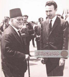 الأمير سعيد مع الرئيس بومدين
