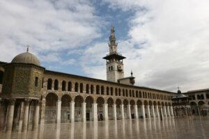 صحن الجامع الأموي