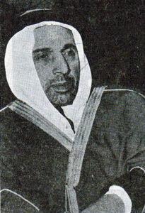 الشيشكلي في سنوات المنفى.