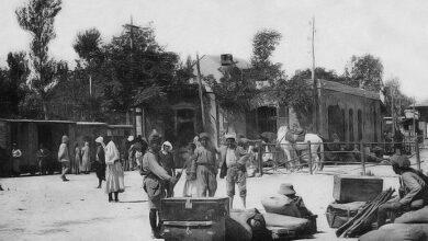 البرامكة سنة 1915.