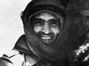 الشيشكلي في حرب فلسطين سنة 1948.